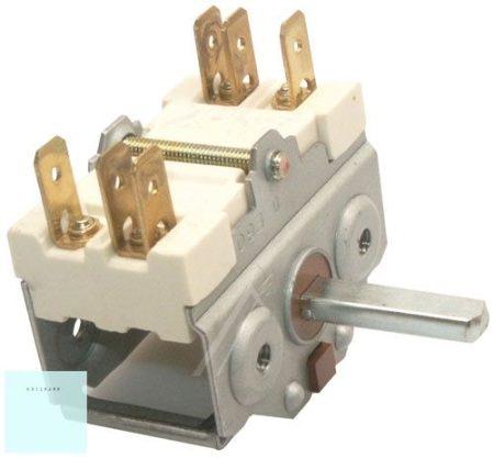 Bütykös kapcsoló    ki - be   4921015600 EGO  körbe forgatható  2 körös  Whirlpool   481227328245