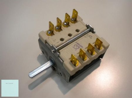 Nagykonyhai sütő előtét kapcsoló 4 állású     (Whirlpool  - Indesit  - Electrolux 481227328259  )