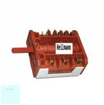 Zanuss - Electrolux - AEG villanytűzhely 5+0 sütőkapcsoló 358198012/9  ; 358196056/8 eredeti, gyári pl.: ZCG 563 MW1 ; EKK511502W