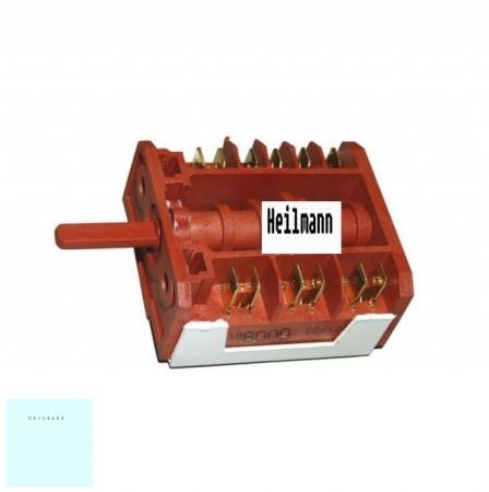Zanuss - Electrolux - AEG villanytűzhely 5+0 sütőkapcsoló 3581980129 # 3581960568 eredeti, gyári pl.: ZCG 563 MW1 ; EKK511502W #