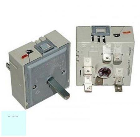 Kerámialapos főzőlap energia szabályozó 230 V 13 A (50.550.21.100 ) 2 körös  5055021100 # ENERGIASZABÁLYZÓ  50.55021.100 Pl.: Bosch NPF651A01E01 #