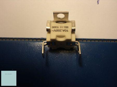 Villany tűzhelysütő hővédő klixon 300 C fokig  3570560015 (eredeti gyári)    10 A
