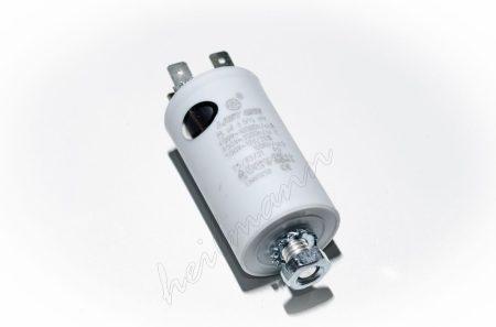 Kondenzátor 450 V 8,0 mF sarus + csavar Ø35x65mm.