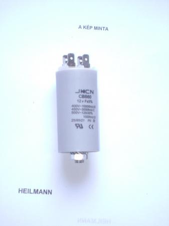 Kondenzátor 450 V 12,0 mF sarus + csavar Ø35x65mm.