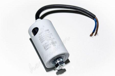 Kondenzátor 450 V 14,0 mF kábel + csavar Ø35x65mm.