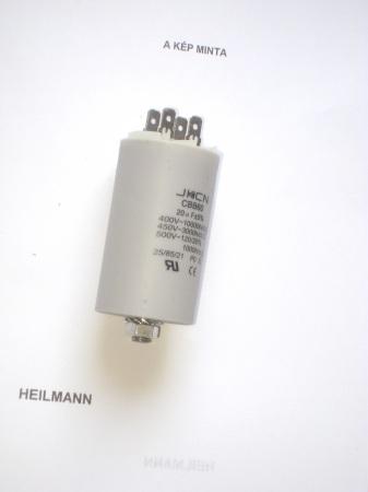 Kondenzátor 450 V 20,0 mF sarus + csavar Ø40x70mm.