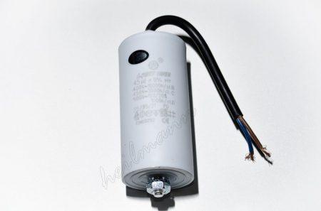 Kondenzátor 450 V 45,0 MF kábel+csavar Ø45x95mm.