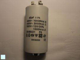 Kondenzátor 450 V 45,0 MF sarus+csavar Ø45x95mm.