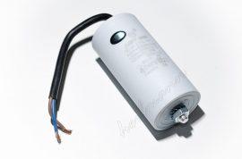 Kondenzátor 450 V 50,0 mF kábel + csavar Ø50x106mm.