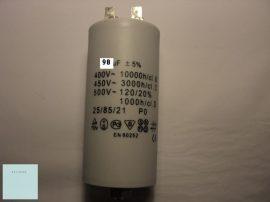 Kondenzátor 450 V 90,0 mF sarus + csavar 55x132mm