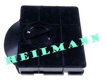 Fagor páraelszívó szénszűrő Electrolux - Zanussi 303 típus kazettás ( aktív szénszűrő, 21,4cm, 20,8cm, 4cm,) 9029793602 ; 9029800555