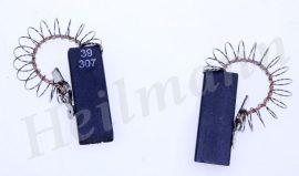 Szénkefe 5x12,4x36mm. 00154740 # középvezetékes, rugós, sarus Whirlpool - Bosch mosógép 481236248434, C00311761 (az ár 1db.-ra értendő) (EU gyártás) Pl.: WAE24160BY #