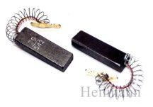 Szénkefe  5x12,4x36mm vezetékes,# rugós, sarus (kínai gyártás) 00154740 (Az ár 1db-ra értendő)#