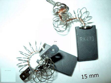 Szénkefe - szett (2.db/csom) 5x15x27mm - MIELE 1689370