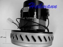 Porszívó motor alacsony Electrolux  - Karcher takarítógép 1200 W 230V 50Hz csavaros felfogatás