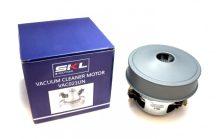Porszívó motor kicsi 1200W univerzális fémházas # magasság: 115MM, Ø130MM. 230V, 50HZ. (021)#