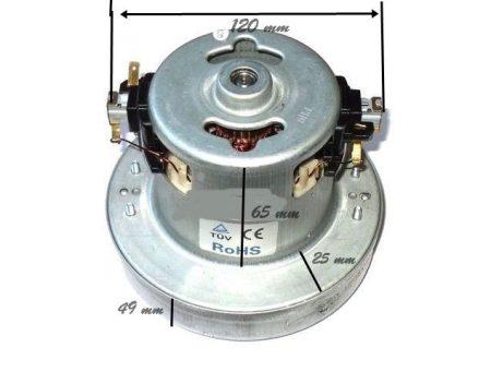 Porszívó motor kicsi 1400W univerzális, fémházas # méret: Ø13X116MM. 230V, 50HZ. (035) YDC04-14 #