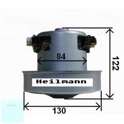 Porszívó motor kicsi 2200W univerzális, fémházas # magasság: 122MM, Ø130MM. 2200W, 230V, 50HZ. (024)#