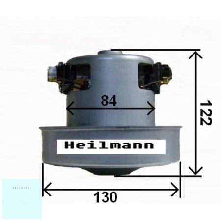 Porszívó motor kicsi 2200 W univerzális fémházas