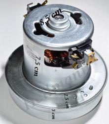 Porszívó motor kicsi 1800W univerzális, fémházas # magasság: : 117MM, Ø130MM. 1800W, 230V, 50HZ. #