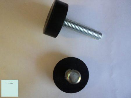 Állítható mosógép láb M8 x 40 (szigetelt fejű csavar)  (az ár 1db.-ra értendő)