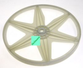 Candy - Hoover mosógép műanyag laposszijtárcsa 41029410   Átmérő (D) mm: 280MM Pl.: GO4106 / 01-16S, GO4 107DF/L-S