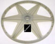Candy - Hoover mosógép műanyag laposszíjtárcsa 46004459, 46004414 , 49033810 ( jelenleg műanyag helyett erősebb fém rendelhető ) (rendelésre)