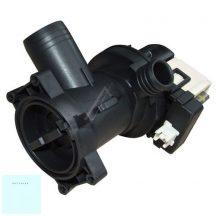 Whirlpool mosógép lúgszivattyú + szűrő + ház elöltöltős mosógéphez 480111101014 ; 481010584942 ; eredeti, gyári Pl.: AWM8101 ; AWO/C 7340