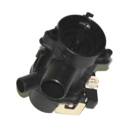 Whirlpool lúgszivattyú + szűrő + ház elöltöltős mosógéphez  481236018527