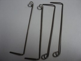 Whirlpool rugó (dobfedélhez)(4819 750 1863 2)98005  helyett csavarok nélkül 2 jobb 2 bal rúgó