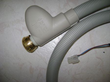 Whirlpool mosogatógép aqua befolyócső 1,55 fm 481253029403 ; 481253028848 Aquastop:elektromos