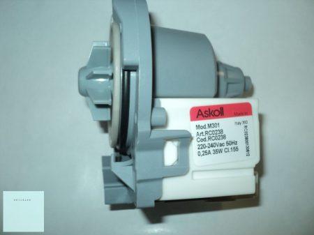 Whirlpool mosogatógép szivattyú ( üritő) 230-240 V  481236018558 ; 481010751595# Pl.: ADP#