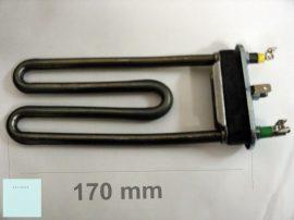 Indesit - Ariston mosógép fűtőbetét 1700W vagy 1800W lyukas enyhén ívelt C00087188