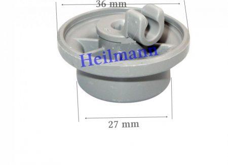 Bosch - Siemens mosogatógép alsó kosár görgő 00165314   Ø 27/36 mm Pl.: SGS43E82EU