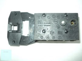 Indesit - Ariston - Zanussi bimetálos ajtóretesz 3 pólusú C00011140 tipo OMP 626/661 elöltöltős Pl.: FLS 412