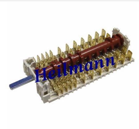 Indesit sütő kapcsoló (funkcióválasztó) 7 állású C00196053 Pl.: FB53C.1IX/HA