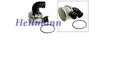 Indesit - Ariston mosogatógép 1650W fűtőbetét + ház + szigetelés C00257904 pl.: LFZ338 ; LST329AX/HA
