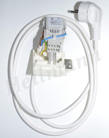 Indesit mosógép hálózati kábel + zavarszűrő kondenzátor C00091633 helyettesítője # 0,47ΜF 482000022761 - PLF00472705100 #