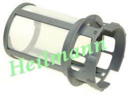 Indesit mosogatógép szűrőbetét (hengeres, hálós)  C00256571 ; WHIRLPOOL 482000022005