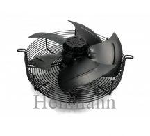 Axiális szellőztető ventilátor védőráccsal, szívó (szerelt) Ø 350mm  220V  50Hz  135W  1380rpm/min