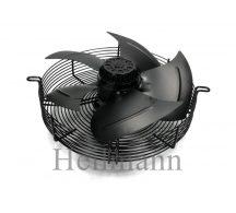 Axiális ipari szellőztető ventilátor védőráccsal, szívó (szerelt) Ø 350mm  220V  50Hz  135W  1380rpm/min