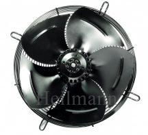 Axiális ipari szellőztető ventilátor védőráccsal, szívó (szerelt) Ø 400mm  220V  1350rpm/min  50Hz  190W