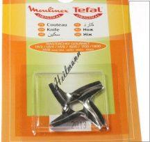 Moulinex húsdaráló négyélű  kés MS0926063 HV2 ,  , HV4 , HV6 , HV8 , 1500 , 1700 , 1800 ( kérem figyelembe venni a tengely 6 szögű, mert létezik 4 szögű is)