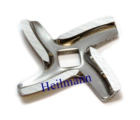Moulinex húsdaráló négyélű  kés #(HV) A09B03 #(4oldalas  tengelyhez)